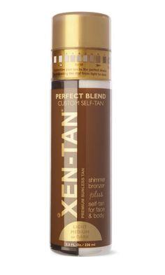 Best Self-Tanner: Xen-Tan Perfect Blend, $43.00