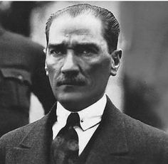 History notes on Mustafa Kemal Atatürk, 1881 - founder and first president of modern Turkey.