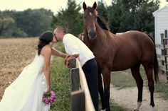 Love this. I want my horses at my wedding.