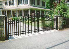 Option 2 gate: Image result for brookline historic fences gates