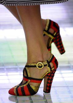 Shoe Daydreams: Planning for Poverty: Prada and Miu Miu Spring 2011