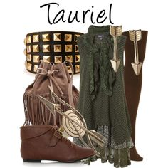 """Tauriel"" by fofandoms on Polyvore"