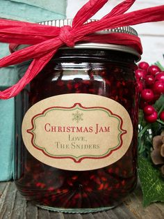 Custom Kraft Christmas Oval Canning Labels For Quilted Jam - Custom Christmas Labels Add A Retro Touch To Holiday Mason Jar Gifts Oval Christmas Labels Have A Cute Snowflake With Customized Text For Mason Jar Gifts Oval Jam Jar Labels Fit The Front Of Qui Pot Mason Diy, Mason Jar Gifts, Mason Jars, Gift Jars, Glass Jars, Jam Jar Labels, Canning Labels, Canning Tips, Canning Recipes