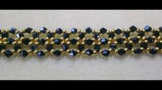JET NIGHT BRACELET ~ Seed Bead Tutorials
