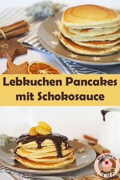 Lebkuchen-Pancakes mit zartbitterer Schokoladensauce: Perfektes Adventssonntags-Frühstück