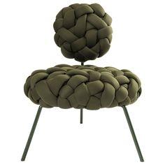 Lounge Furniture, Art Furniture, Unique Furniture, Furniture Design, Cool Chairs, Fur Chairs, Lounge Chairs, Diy Chair, Vintage Chairs