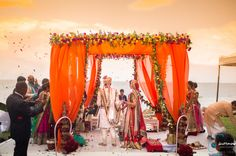 Don't go crazy looking at mandap designs all over the place. Stop, take a look at our Top 5 Mandap Design Ideas & get your Pitcure Perfect Wedding right! South Indian Weddings, Big Fat Indian Wedding, Hindu Weddings, Wedding Mandap, Sikh Wedding, Wedding Receptions, Wedding Images, Wedding Designs, Wedding Ideas