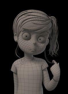 cartoon and render study Concept by DFer32 http://dfer32.deviantart.com/