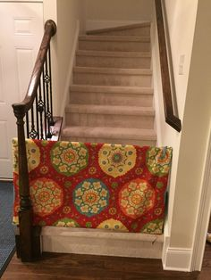 Baby Gate For Stairs Gates Fabric Glue