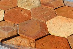 Plaquette brique parement mural granulit 50 g54 panach for Carrelage hexagonal rouge