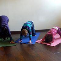 IV Family Yoga class