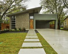Mid Century Modern Landscaping Design, Pictures, Remodel, Decor and Ideas - page 22