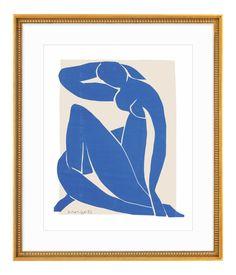 Henri Matisse Blue Nude II Framed Print on Chairish.com
