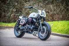 "Harley ""Fat Tracker"" by Shaw Speed & Custom"