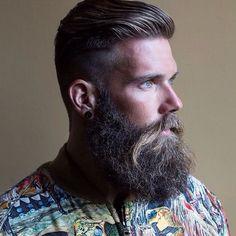 Daily Dose Of Awesome Beard Style Ideas From beardoholic.com                                                                                                                                                                                 More