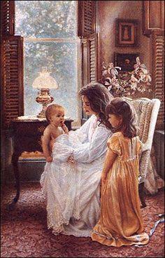 A Mother's love for her precious children! Robert Motherwell, Richard Diebenkorn, Wise Women, Karen, Jackson Pollock, Keith Haring, Mother And Father, Mother Teresa, Mothers Love