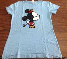 camiseta pintada a mano Minie Mouse