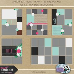 """PixelScrapper March Blog Train – """"In The Pocket"""" – Holly Wolf Scraps"""