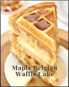 Waffle Cakes Are the Next Big Dessert Trend (and They're Surprisingly Easy to Make) - Recipes & Eating Habits Ketogenic Desserts, Healthy Desserts, Healthy Recipes, Gourmet Recipes, Cake Recipes, Dessert Recipes, Dinner Recipes, Waffle Cake, Good Food