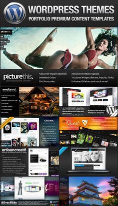 Premium Wordpress Portfolio Themes
