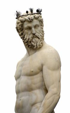 poseidon The god of the sea, rivers, floods, droughts, earthquakes, and the creator of horses; He is a son of Cronus and Rhea and brother to Zeus and Hades.  Looks like Dieter.  A compliment.