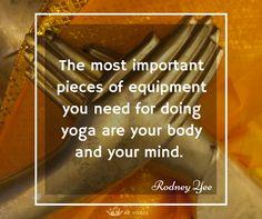 Inspiring Yoga Quote from Rodney Yee