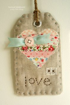 Tag from scraps