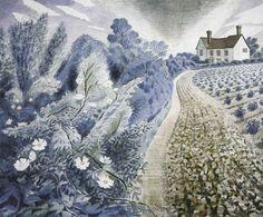 Eric Ravilious. Essex farmhouse