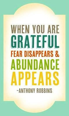grateful Weekly inspiration for a successful personal and professional life!