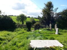 This is the probable burial place of Elizabeth Hamilton, Allen's mother. The headstone are unreadable in this gorgeous old cemetery in Irvinestown, Co. Fermanagh, Northern Ireland, Photo credit, Wendy Wilson Spooner Old Cemeteries, Northern Ireland, Cemetery, Photo Credit, Hamilton, Golf Courses, Irish, Places, Outdoor Decor