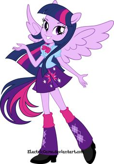 MLP:Equestria Girls - The Magic|Vector by ElectricGame on DeviantArt