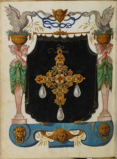 Jewel Book of the Duchess Anna of Bavaria (1550s) j