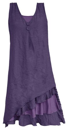 Plum dress Linen Dresses, Cute Dresses, Girls Dresses, Summer Dresses, Linen Dress Pattern, Dress Patterns, Pretty Angel Clothing, Boho Fashion, Womens Fashion