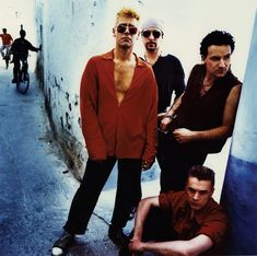 """U2~ """"I believe in kingdom come, then all the colors will bleed into one..."""""""