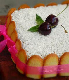 Mont-Blanc-Antillais Gâteau + crème coco :  œufs /sucre / farine / citron vert / cannelle/ noix de coco râpée lait de coco / lait / jaunes d'œufs / vanille /citron vert /sucre/ farine