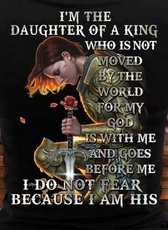 No photo description available. Warrior Quotes, Prayer Warrior, Daughters Of The King, Daughter Of God, Religious Quotes, Spiritual Quotes, Gods Princess, Warrior Princess, Christian Warrior