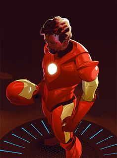 Iron Man by Franklin J. Stockton *