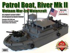 Brickmania - Patrol Boat Riverine MKII, $350.00 (http://www.brickmania.com/patrol-boat-riverine-mkii/)