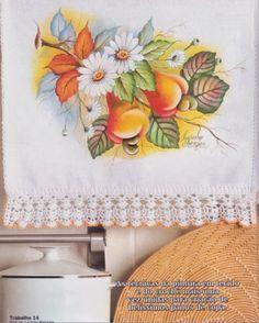 Talita Monteiro: Pintura em Tecido Cajus