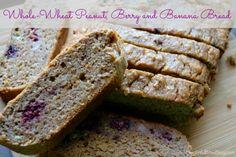 Whole-Wheat Peanut, Berry and Banana Bread