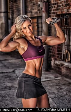 Nemeth Fitness Model Gallery | Female Muscle and Fitness Model Videos