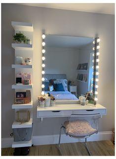 Cute Bedroom Decor, Bedroom Decor For Teen Girls, Room Design Bedroom, Teenage Girl Bedrooms, Room Ideas Bedroom, Home Room Design, Girl Rooms, Teenage Girl Bedroom Designs, Girls Bedroom Decorating