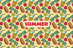 33 Cool Photoshop, Photoshop Elements, Project Yourself, Summer Activities, Vector Pattern, Wall Tapestry, Design Elements, Swatch, Greeting Cards