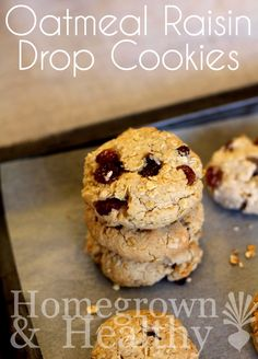 Oatmeal raisin drop cookies.. easy and tasty #OXOGoodCookies