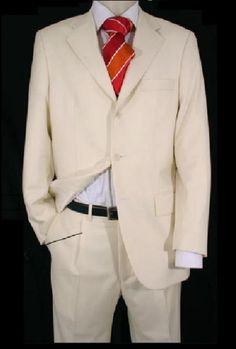 Mens Ivory Light Weight Suit. We have collection of White Suit with unique design, color and brands.   ‪#WhiteSuits‬