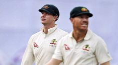 Exemplary punishment for Australian Cheaters David Warner, Steve Smith, Cricket News, Cheaters, Chef Jackets, Interview, Polo Ralph Lauren, Mens Tops