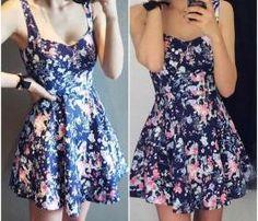 floral print skater dress Ashley Clothes 2d9c10626