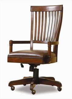 Nebraska Furniture Mart U2013 Hooker Warm Cherry Office Desk Chair ~ $450.00