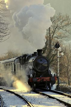 The Llangollen Railway, Denbighshire, Wales, UK.  What adventure will the train take you on?