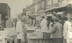 Edmonton Green market c.1960   The Enfield Experiment   The Guardian